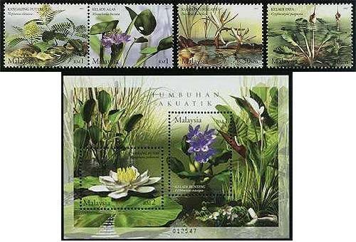 外国花卉邮票欣赏