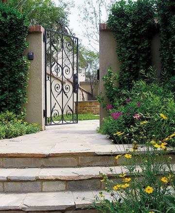 庭院地面铺装材料_庭院地面