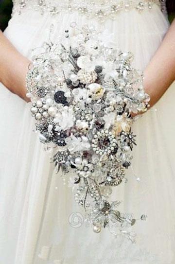 冬季婚礼 富有创意的7个新娘手捧花