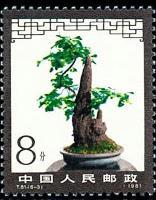 花卉邮票:盆景艺术邮票