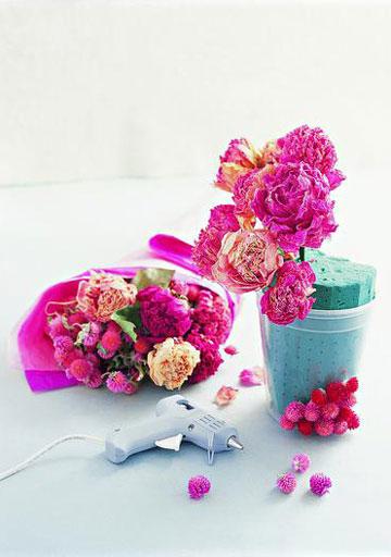 鲜花常开不败 干花制作的小贴士