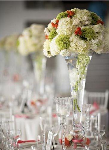 四种常见婚礼桌花风格 选择适合自己的婚礼格调