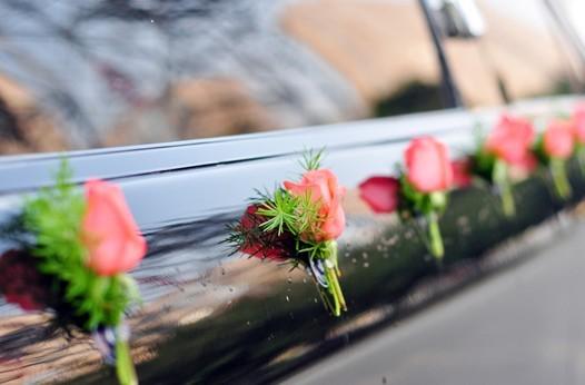 婚车用花婚车鲜花装饰的美好寓意