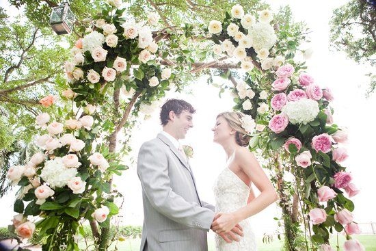 盘点时下流行的各式婚礼花门