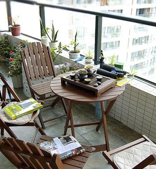 4个阳台花园装饰设计新概念 为你打造美貌阳台
