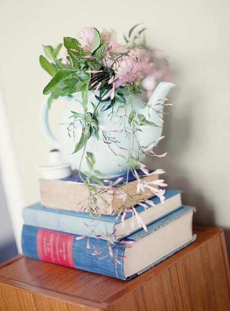 生活小趣味 DIY茶壶插花装饰家居