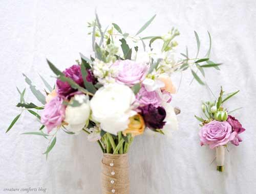 自己动手DIY新娘手捧花 装点最幸福的一天