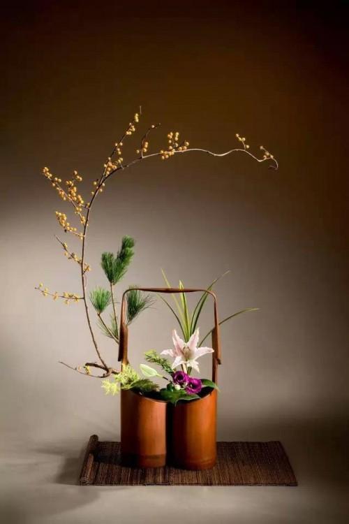 竹筒插花 艺术插花与禅意的邂逅