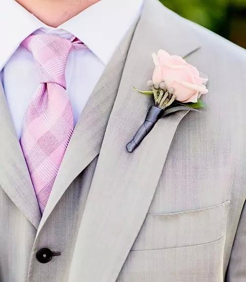 新郎胸花大学问 新郎胸花的制作月佩戴方法