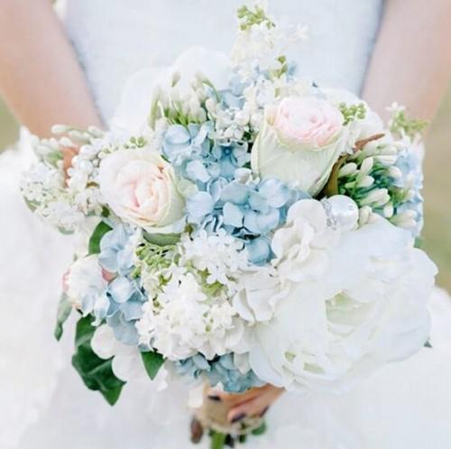 2015年5大新娘手捧花流行类型