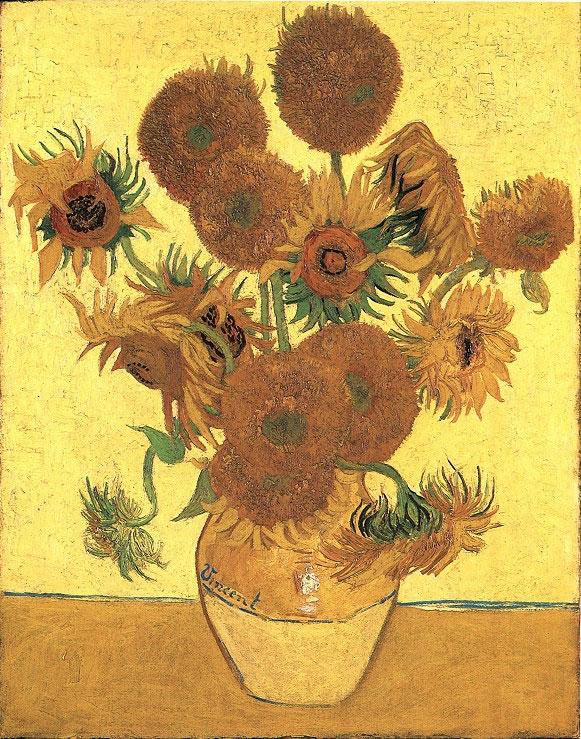 梵高的花朵世界:梵高花卉题材的作品