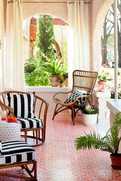家庭园艺 露台花园的布置技巧