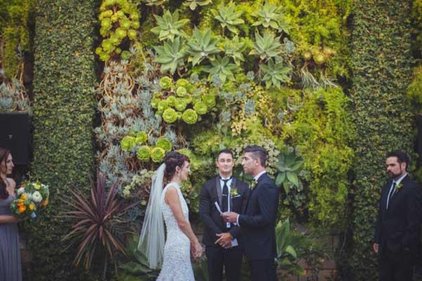 复古文艺范儿的森系婚礼 你心动了吗