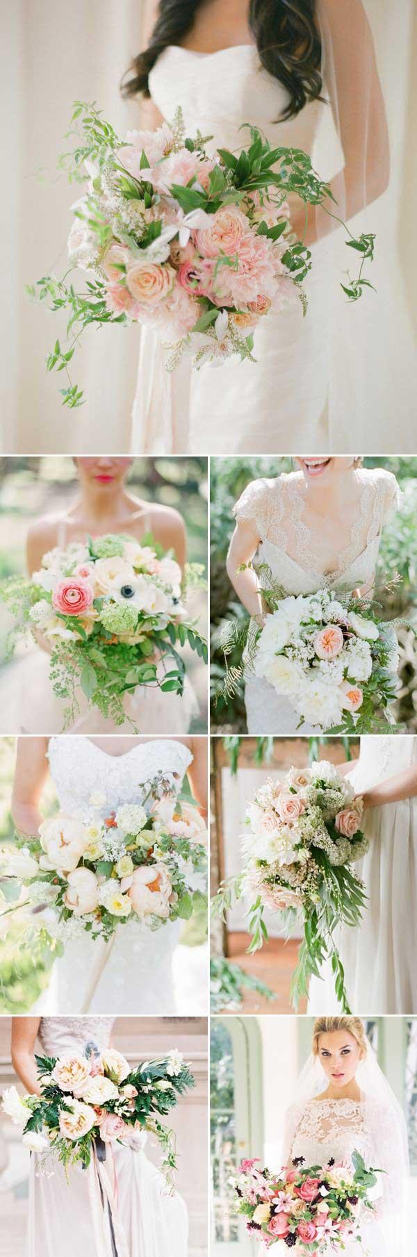 不拘束的浪漫 17款艺术派新娘手捧花