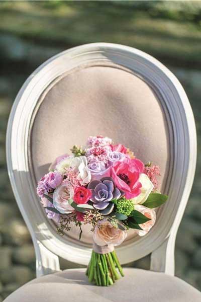 多肉植物绿色婚礼 婚礼带来清新可人的气息