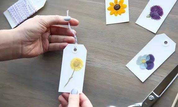 DIY:创意干花标签的制作步骤详解