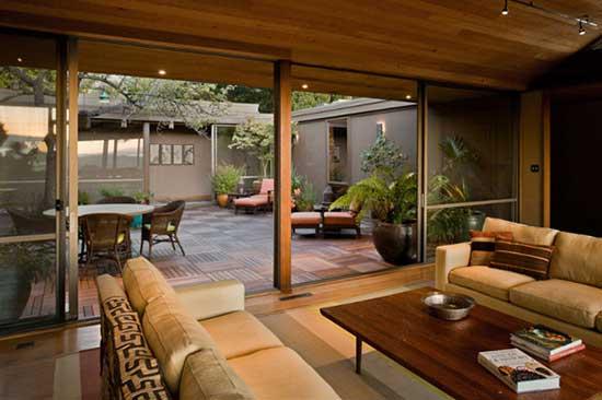 大房子里的小庭院 创意庭院花园设计要点