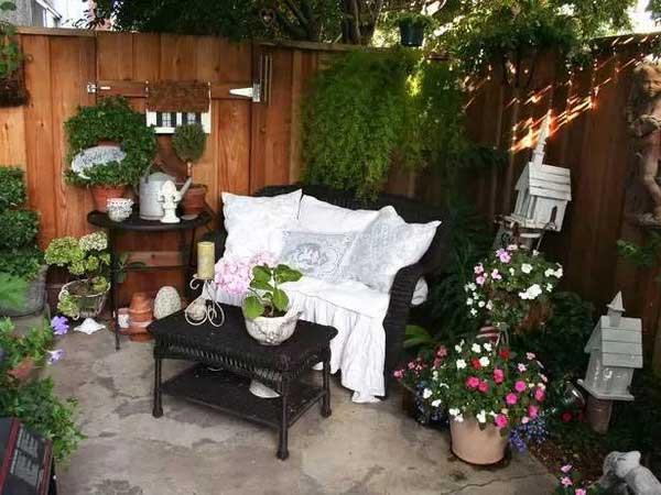 想要这样一个院子 简单过一辈子