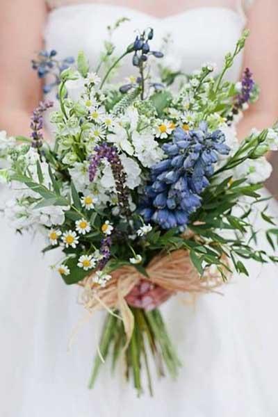 婚礼上新娘手捧花的经典搭配