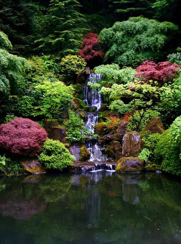 Japanese Garden Design Layout